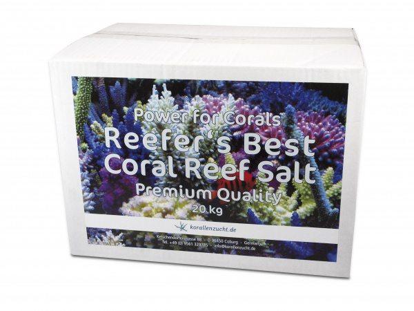 Korallen-zucht Reefer's Best – Coral Reef Salt Premium Quality 20kg