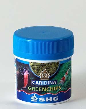SHG CARIDINA GREENCHIPS 25 g